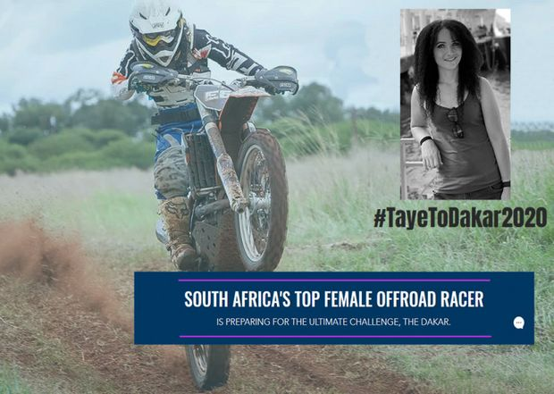 Taye Perry Dakar Rally Cause Logo