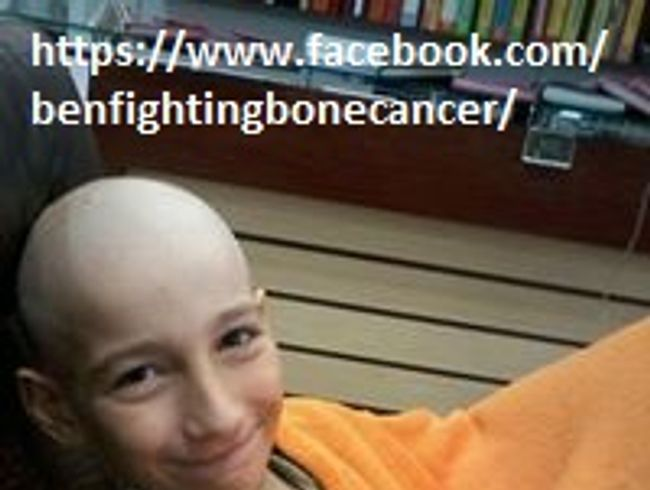 Ben Fighting Cancer
