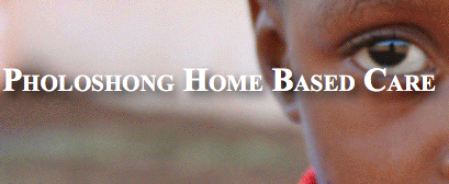 Pholoshong Home Based Care Logo