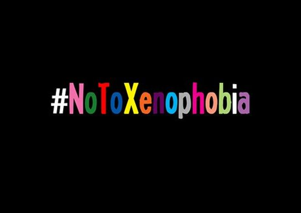 Say No to Xenophobia Cause Logo