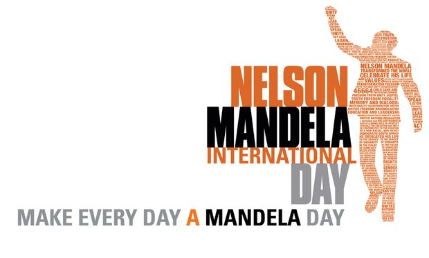 46664 Mandela Day - The Bangle School Library in support of ... Logo