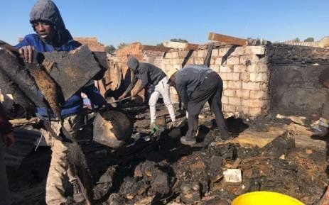 Helping the Alexandra & Soweto Fire Victims Logo