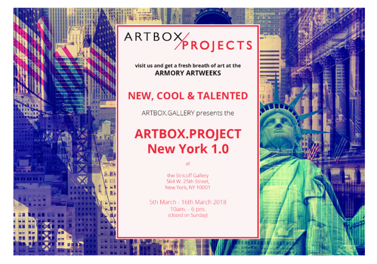 Get Taryn to to New York Art Week! Logo