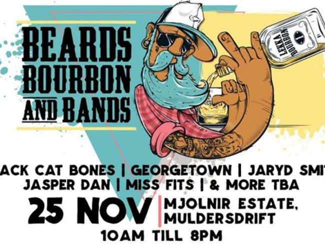 Beards, Bourbon and Bands