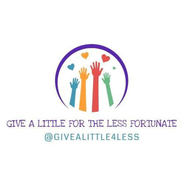 Give a little for the Less Fortunate Cause Logo