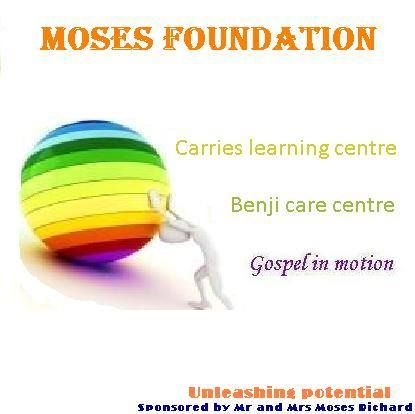 The Clive Moses Foundation Logo