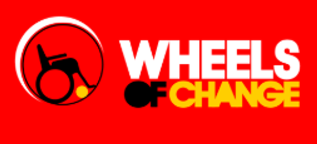 Wheels of change Logo
