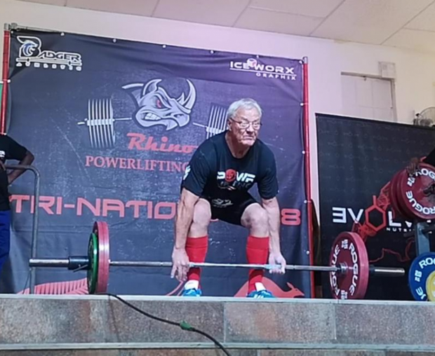 Hendrik Roodt Powerlifting Cause Logo