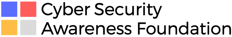 Cyber Security Awareness Foundation Logo