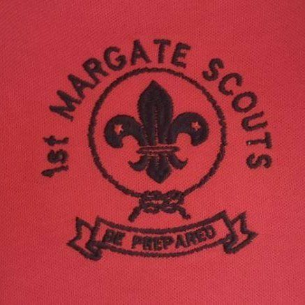 South African Scouts Association - 1st Margate Scouts Logo