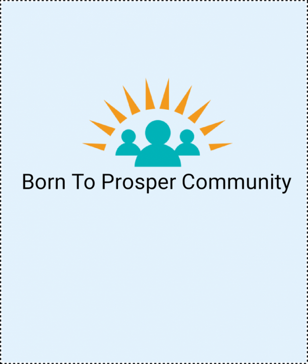 BORN TO PROSPER COMMUNITY Logo