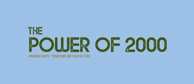 The Power of 2000 Cause Logo