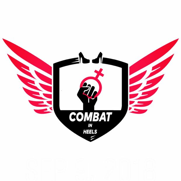 Combat in Heels Self-Defence Cause Logo