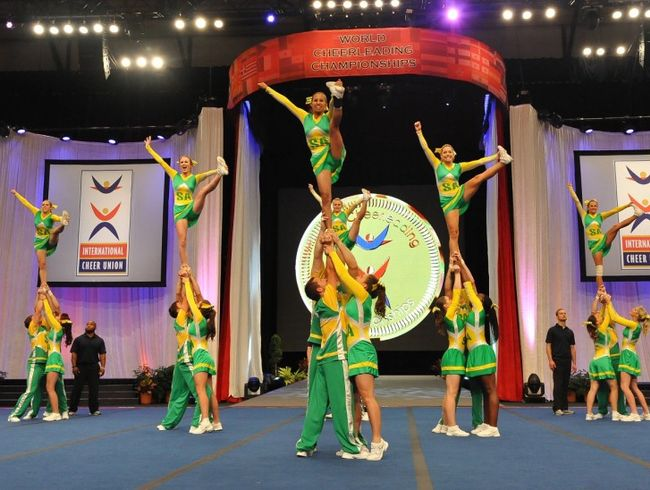 Cheerleading in the World Champs 2017