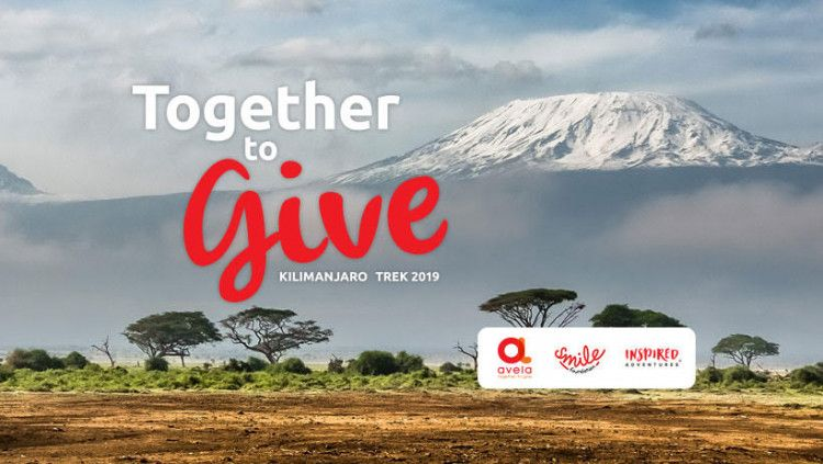 Together to Give 2019, Kilimanjaro Trek for the Avela Foundation