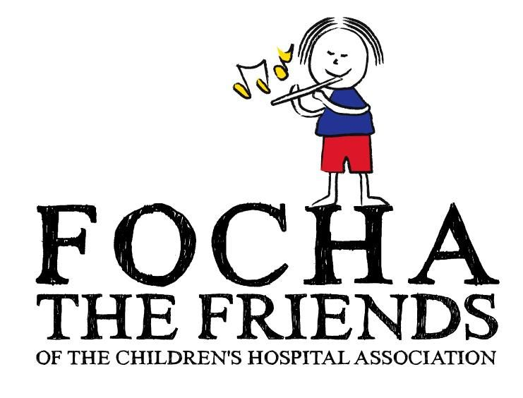THE FRIENDS OF THE CHILDREN'S HOSPITAL ASSOCIATION  Logo