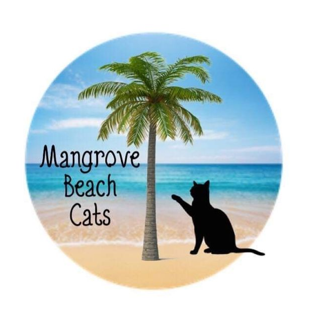 Mangrove Beach Cats Cause Logo