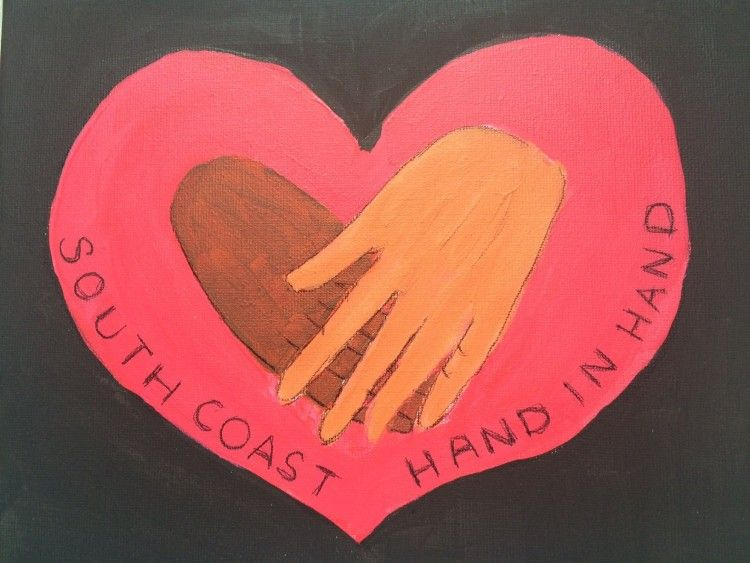 SOUTH COAST HAND IN HAND CRAFT GROUP Logo