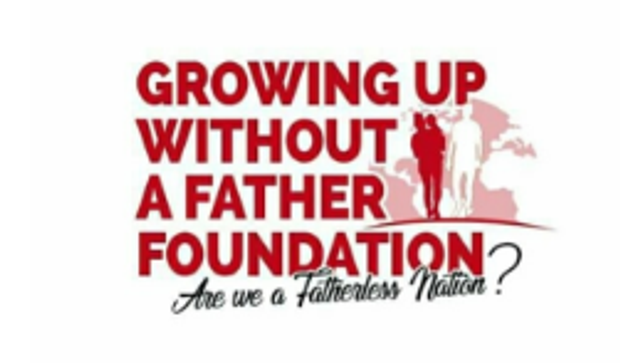 GROWING UP WITHOUT A FATHER FOUNDATION Logo