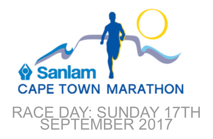 Cape Town Marathon for TBI Research Logo
