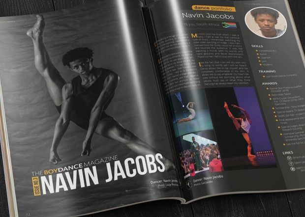 Navin Jacobs Dancing Cause Logo