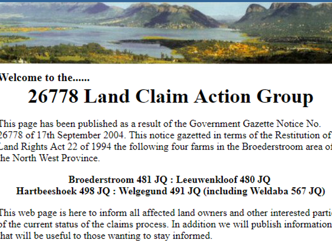 26778 Land Claim Action Cause