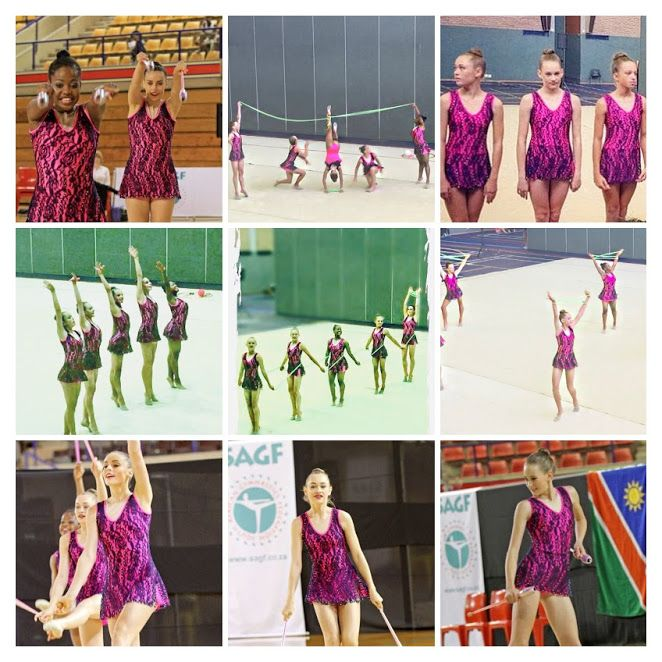 Gold Reef Junior Rhythmic Gymnastics Group  Logo