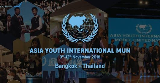 Asia Youth International Model United Nations 2018 Cause Logo