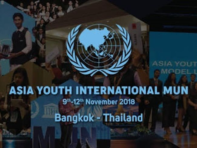 Asia Youth International Model United Nations 2018 Cause