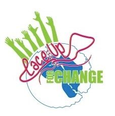 Lace Up For Change Logo