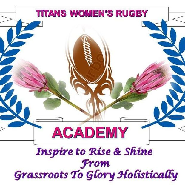 Titans Women's Rugby Academy Logo