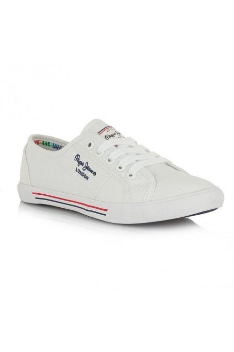 Pepe jeans Sneakers Γυναικεία Παπούτσια PLS30500 Άσπρο Pepe jeans PLS30500 'Ασπρο