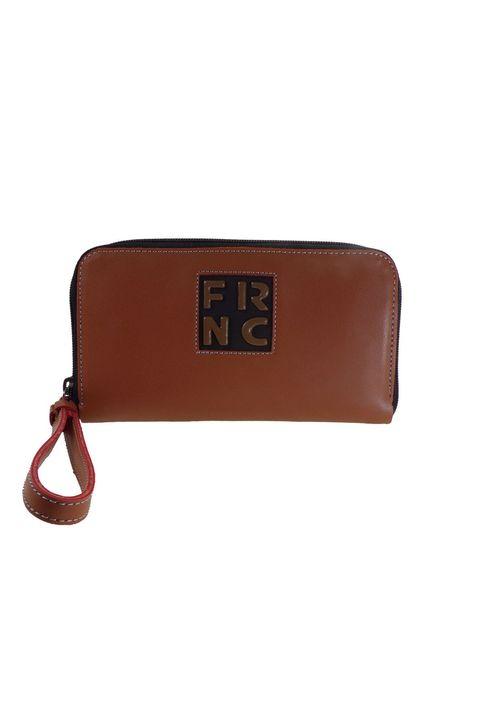 FRNC FRANCESCO Γυναικεία Πορτοφόλια Τσαντάκια WAL005Ε Ταμπά Δέρμα
