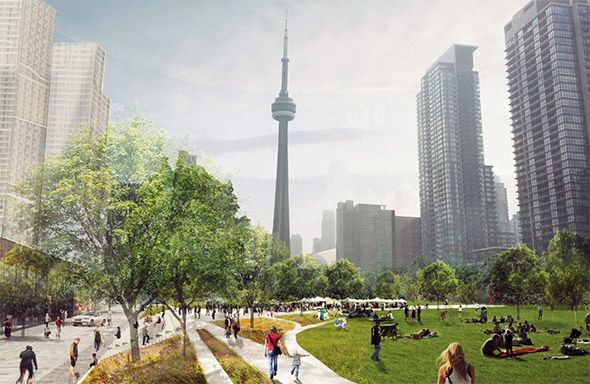 Toronto's getting a massive new downtown park