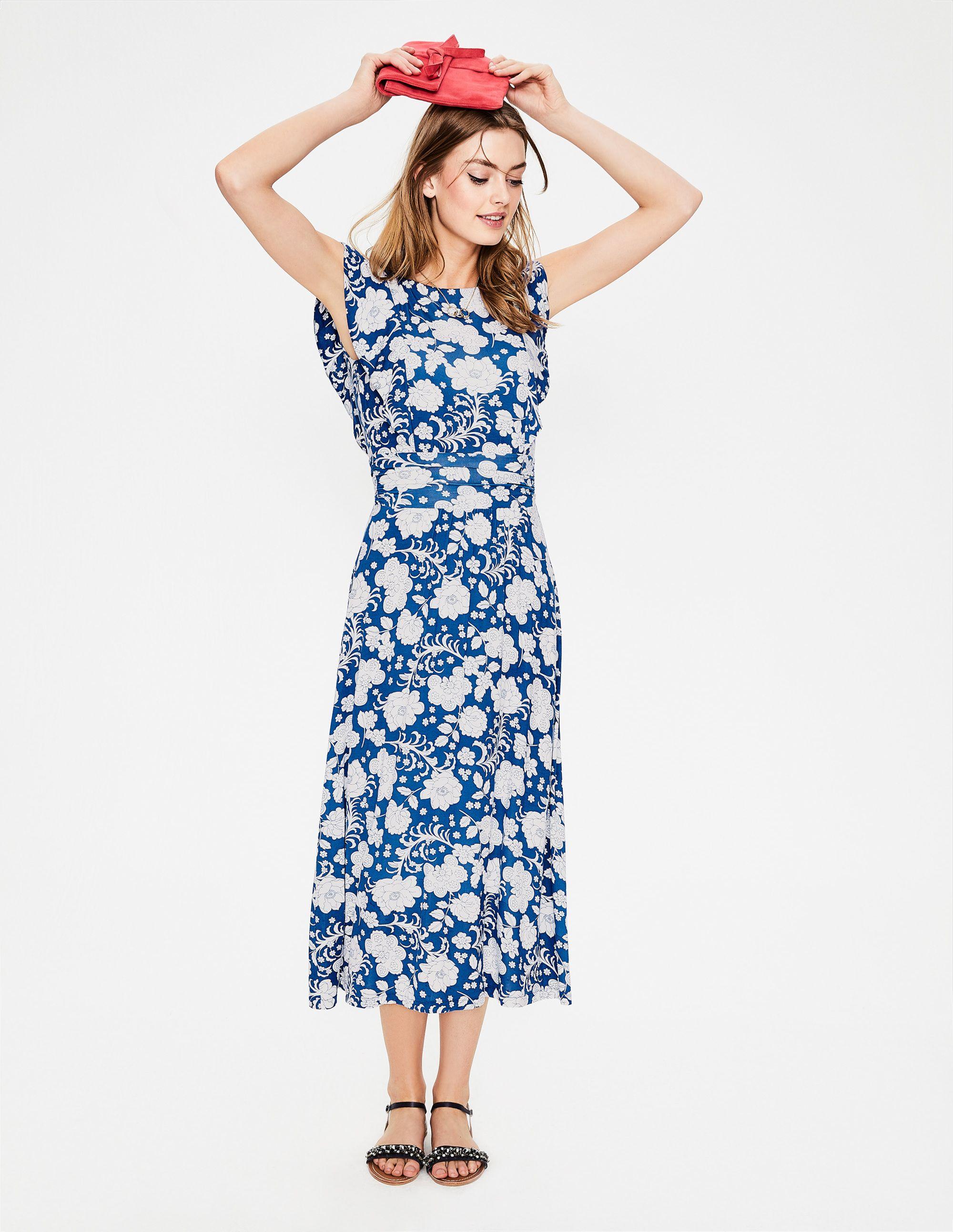 Adelina Jerseykleid Blue Damen Boden