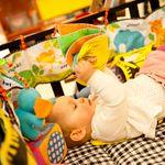 Baby leert in eerste half jaar klanken moedertaal