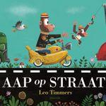 'Aap op straat' is door The New York Times verkozen tot een van de tien beste prentenboeken van 2019