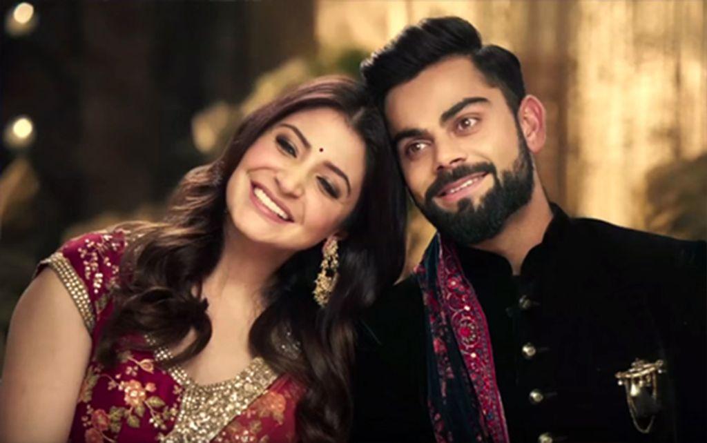 Anushka Sharma-Virat Kohli take seven vows of marriage (sort of) – watch video