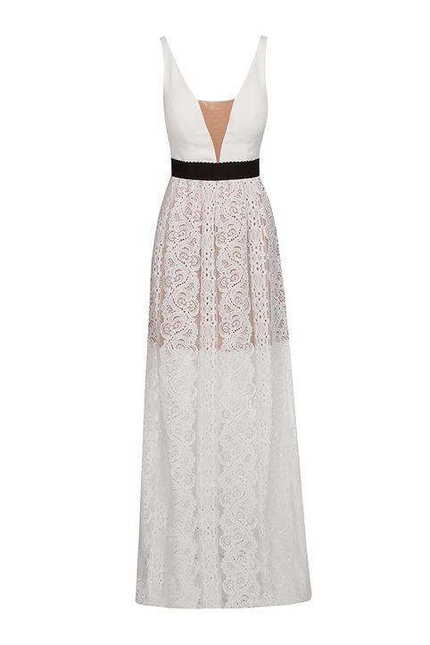 Lynne Vol.2 - Γυναικείο ζαχαρί Maxi Φόρεμα LYNNE