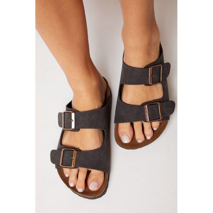 Tonny Black Shoes - Γυναικείες Παντόφλες Tonny Black
