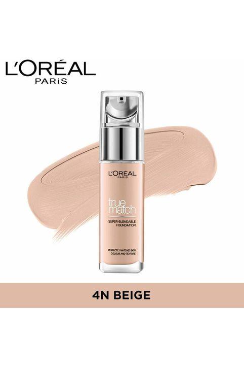 Beauty Basket - L'Oreal True Match Super Blendable Foundation 4N Beige