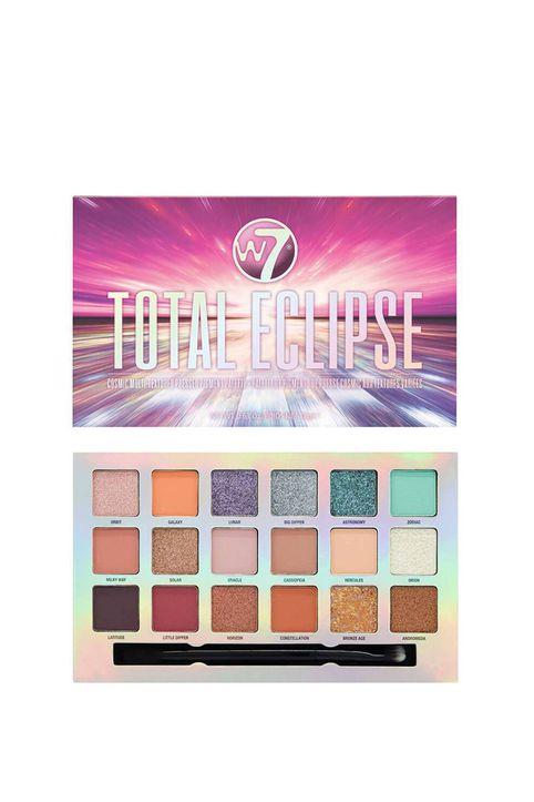 Beauty Basket - W7 Total Eclipse Pressed Pigment Palette