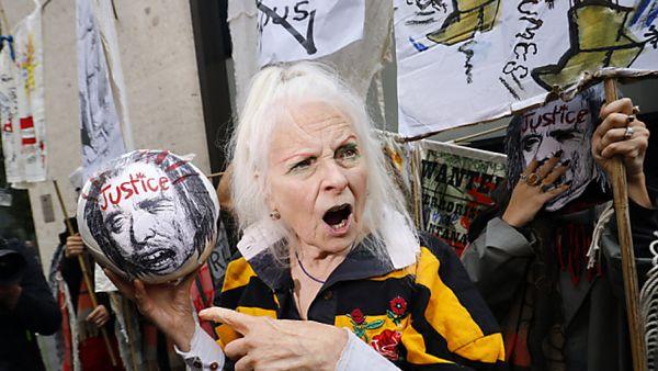 Rebellische Modeikone Vivienne Westwood wird 80