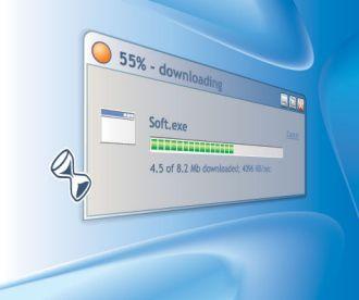 הורדה|המחשת מהירות גלישה  מהירות האינטרנט חבילת הגלישה במחשב