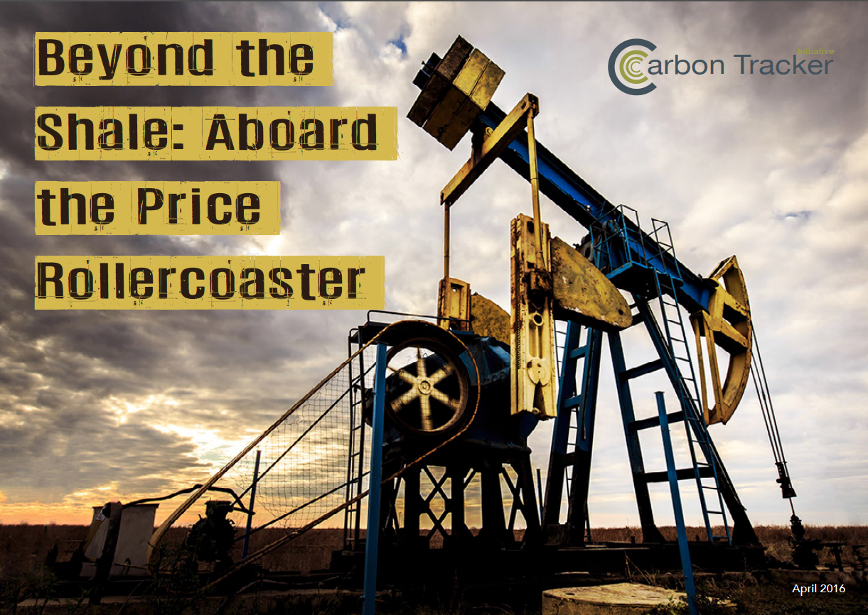 Beyond the Shale: Aboard the Price Rollercoaster