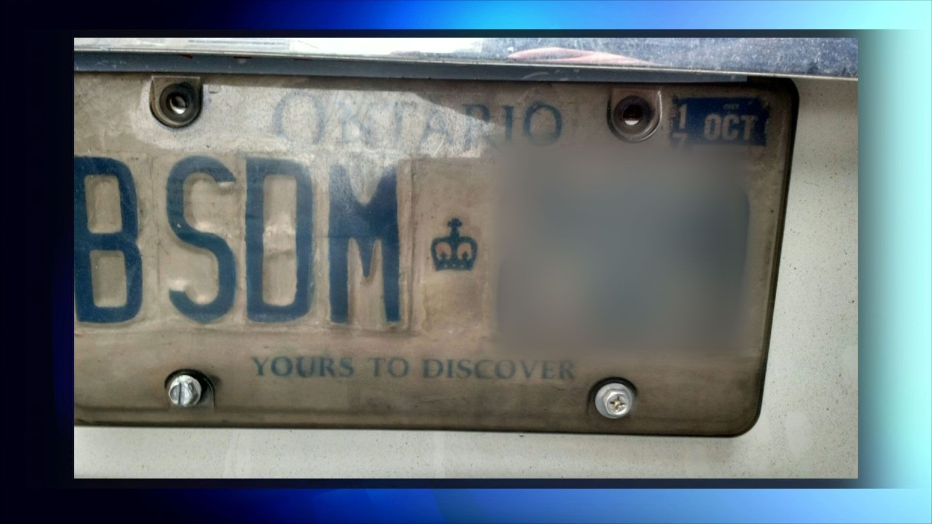 Are scammers using fake licence plates to put you on the hook for tickets? - CityNews