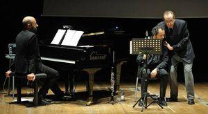 """Mirabella insieme al duo musicale Mercadante a Fano per i """"Comizi d'Amore"""": «Vi racconterò il Sommo Poeta»"""
