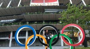 Giorgia Cardinaletti dopo le Olimpiadi è in ferie a Fabriano: «Marche e famiglia, vacanze da sogno. Meno libertà? Si vive bene lo stesso»