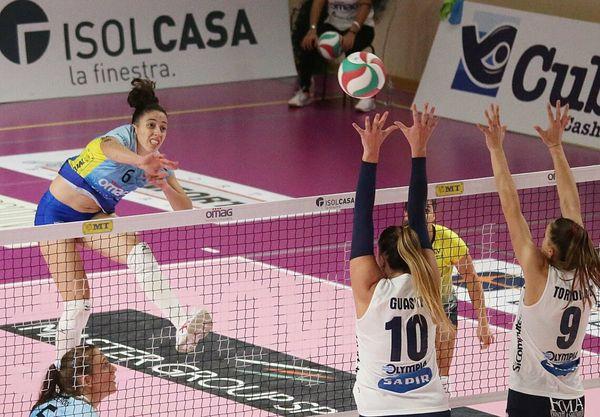 Volley A2 donne, la Omag a segno con Marsala (3-0)