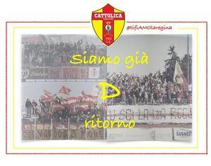 Calcio, il Cattolica festeggia il ripescaggio in Serie D